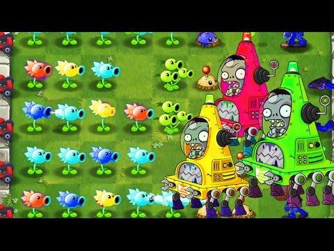 ЗОМБИ ПРОТИВ РАСТЕНИЙ 2 НОВЫЙ БИОМ - мультик игра для детей Plants vs zombies 2 PVZ - от Спуди !