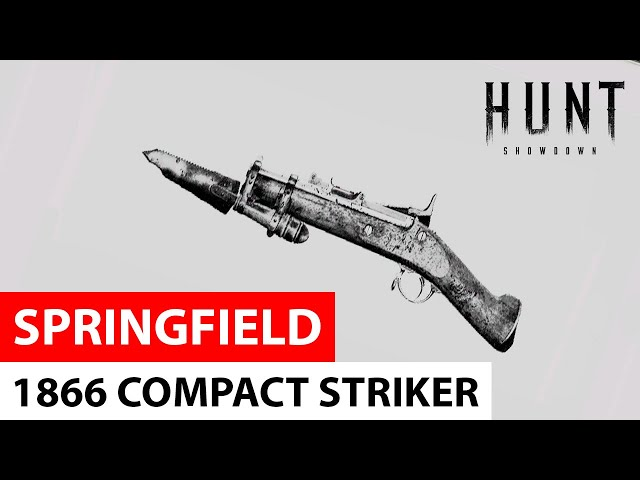 Springfield 1866 Compact Striker in Hunt: Showdown
