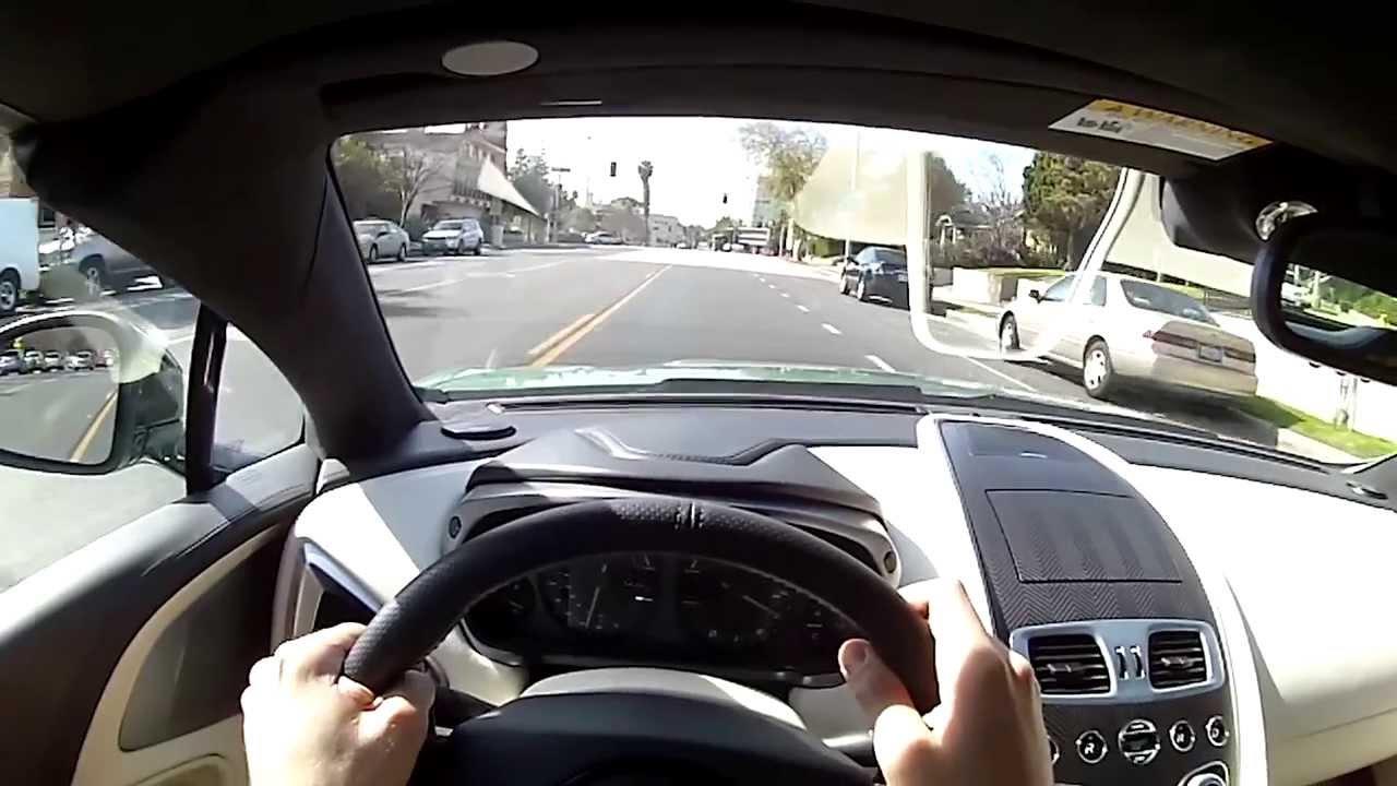 2014 Aston Martin Vanquish Volante Wr Tv Pov Test Drive Youtube