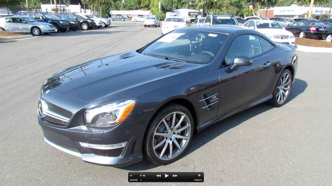 2013 Mercedes-Benz SL63 AMG Start Up, Exhaust, and In Depth Review ...