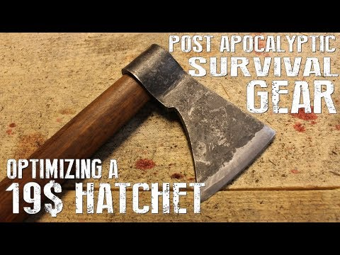 How To Save Money On Gear- Optimizing A Cheap Hatchet - Post Apocalyptic Life Hacks