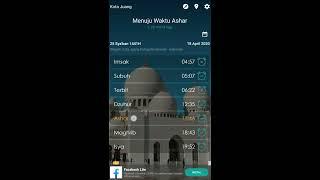APLIKASI PENGINGAT WAKTU SHOLAT screenshot 3