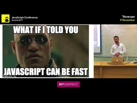 V8 engine, JS Code Interpretation and Execution by Shahen Hovhannisyan | JS Conf Armenia 2017