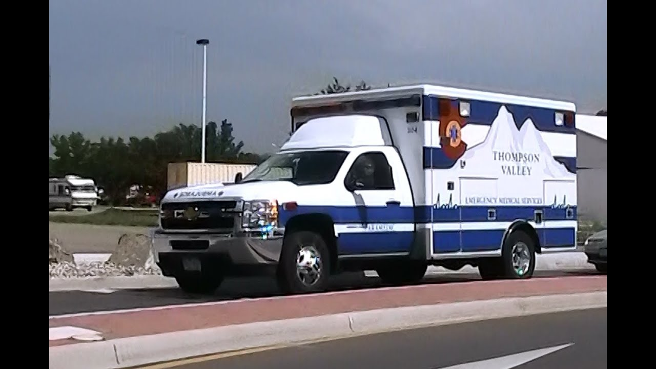 Thompson Valley EMS ambulance driving [CO | 7/2011] - YouTube
