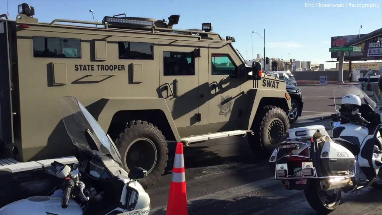 Swat Amp Eod Vehicles Az State Troopers Dps Donald