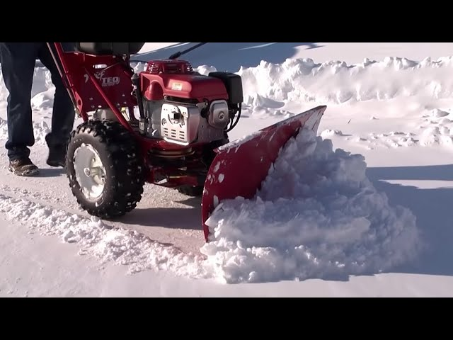 Snow Plow from TURF TEQ - Walk Behind Snow Plow