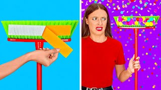 SUPER LAZY HACKS || Feeling Lazy? We Have Cool Home And Cleaning Hacks by 123 GO!