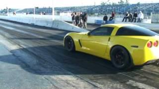 corvette z06 vs trailblazer ss