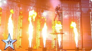 ACTS ON FIRE! | Britain's Got Talent