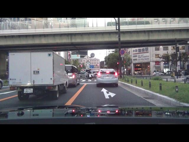 大阪第一弾!これが本場のイキり運転!東京横浜ではこんな運転遭遇無し!