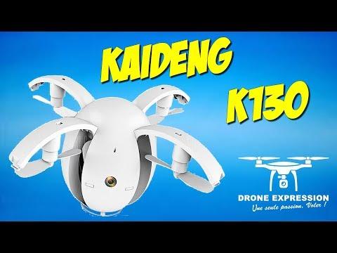 KAIDENG K130 ALPHA EGG PRESENTATION UNBOXING REVIEW FLIGHT TEST HOBBYGAGA DRONE EXPRESSION FRENCH