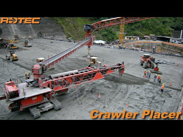 Rotec Crawler Placer