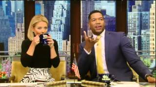 On Live With Kelly and Michael April 11, 2016 : Chris O'Donnell, Cedric the Entertainer
