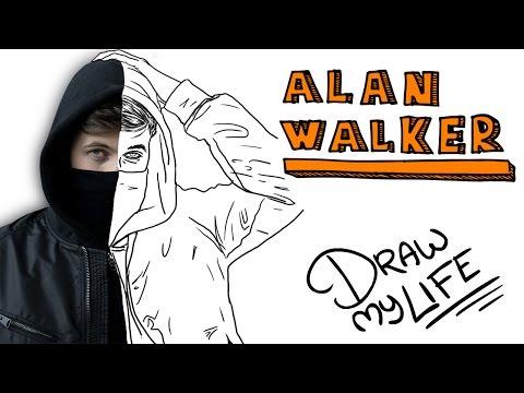 ALAN WALKER | Draw My Life
