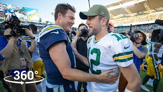 360° VR All-Access to Chargers BIG WIN vs. the Packers!