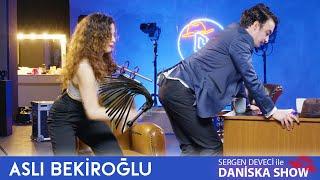 Aslı Bekiroğlu ve Sergen Deveci den KIRBAÇ ŞOV 🤪  Daniska Show 4