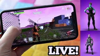 Fortnite Mobile Live//Sub Games//Decent Builder//Fortnite Mobile Gameplay (Tips/News)