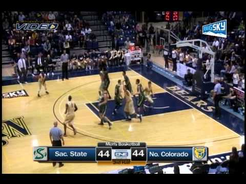 Sacramento State Highlights - Northern Colorado Men