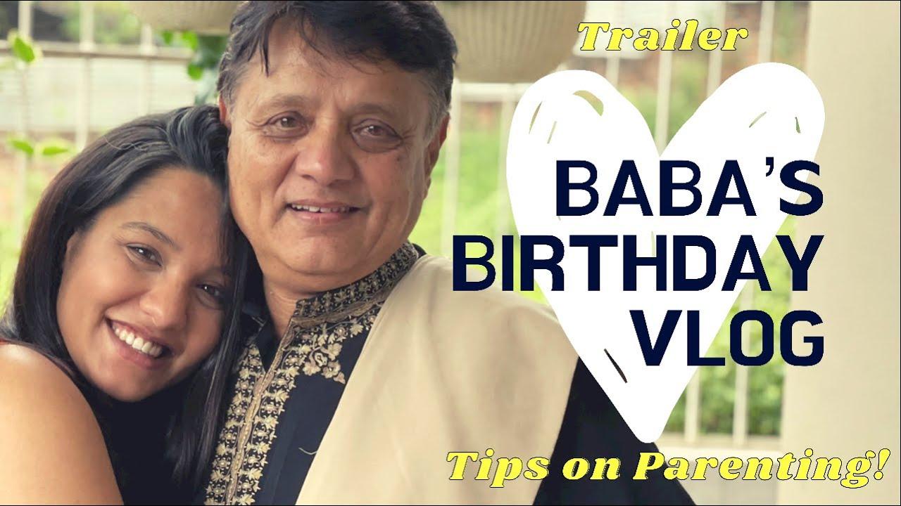 Baba's Birthday Vlog | नातिनी हेर्ने एक्दम ठुलो इच्छा छ | Grandfather's excitement |  Parenting Tips
