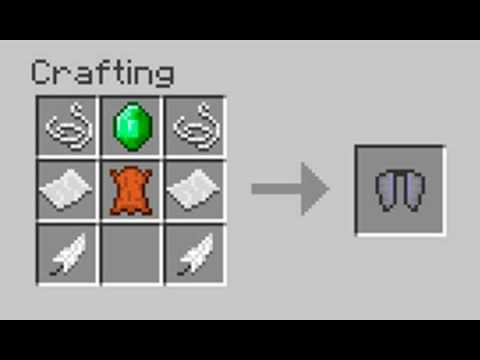 How To Craft Elytra Wings In Minecraft