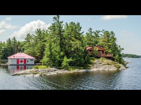 Georgian Bay Island Cottage For Sale
