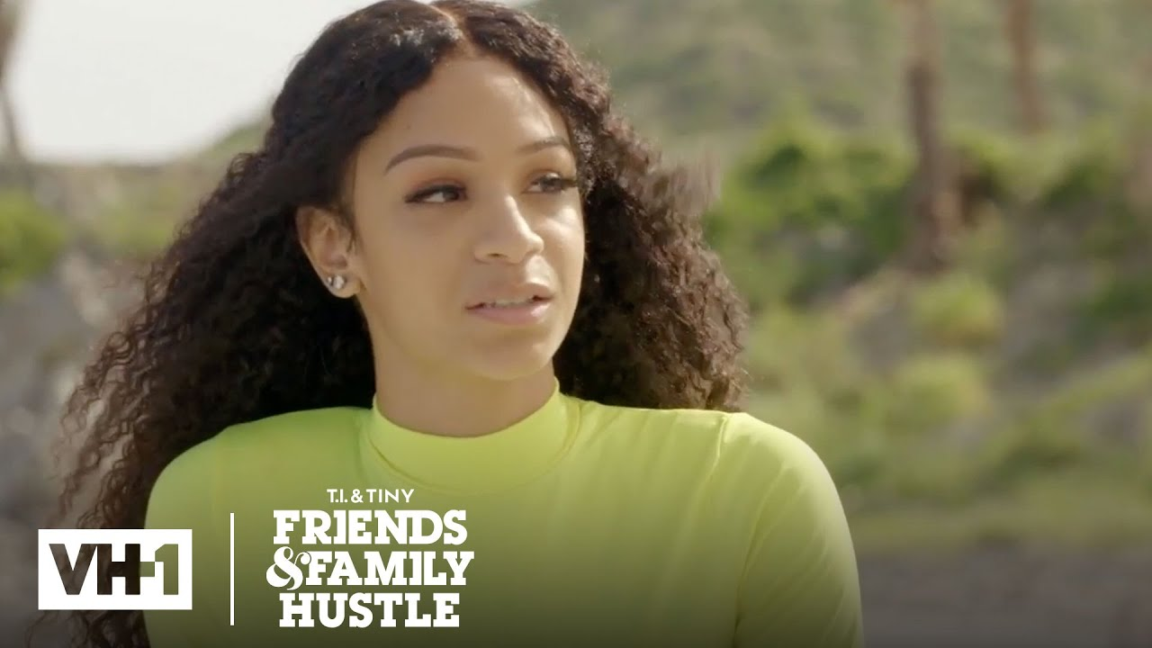 Deyjah Feels Uncomfortable Confronting Her Father T I Tiny Friends Family Hustle Youtube