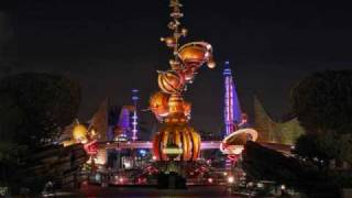 * Disneyland music- Tomorrowland area music part 1