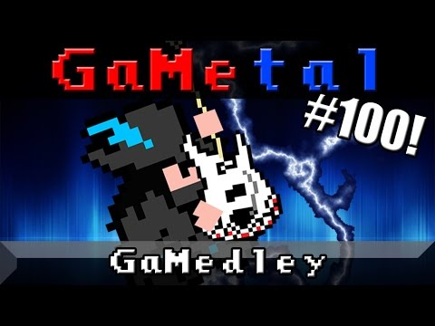 GaMedley: The Iconic Themes of Gaming - GaMetal (100th Song Special!) - 동영상