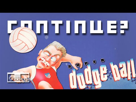 Super Dodgeball (NES) - Continue?