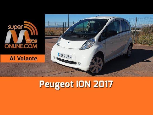 Peugeot iON 2017 / Al volante / Prueba dinámica / Review / Supermotoronline.com