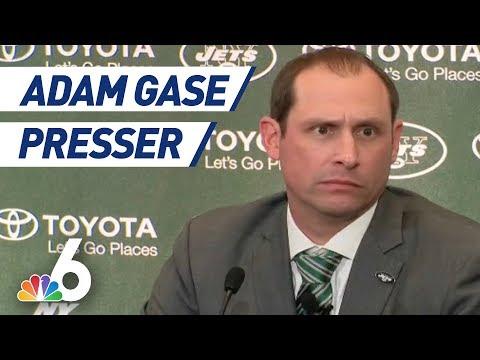UNCUT: Former Dolphins Head Coach Adam Gase Jets' Presser