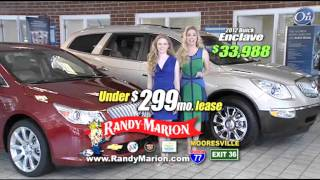 New Buick LaCrosse and Buick Enclave at Randy Marion Mooresville