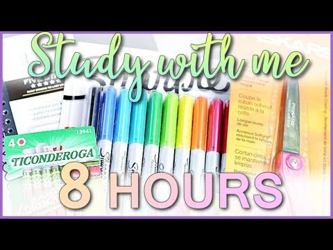 Study With Me - Study Live Stream #162 (8 HOURS) (FINISH IT)