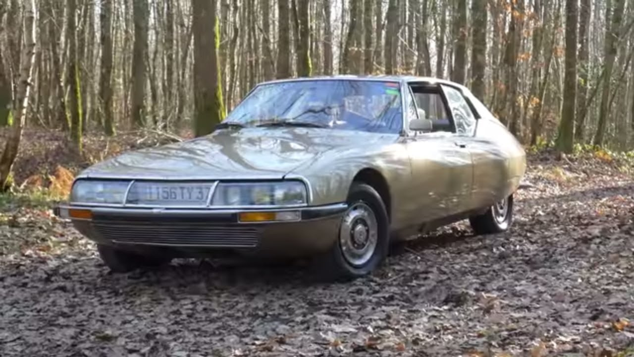 Citroën Sm La Gt Chevronnée Youtube