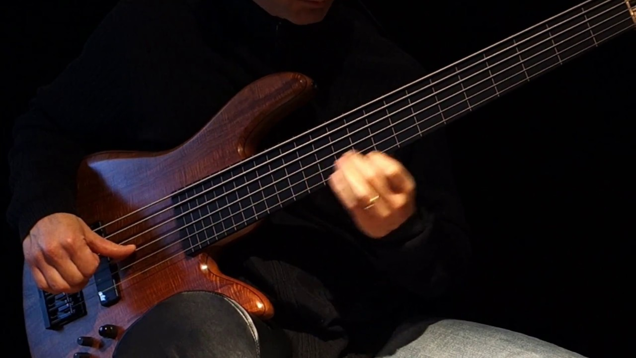 Six String Fretless Bass Solo Ebow To R E L A X