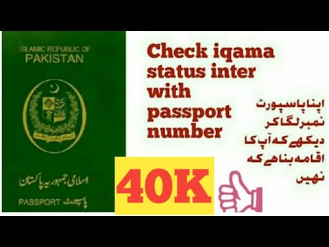 how to check iqama status with out iqama number urdu / hinddi info lab and  entertainment