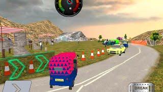 Mountain Auto Tuk Tuk rickshaw New game   Auto rickshaw   Android gameplay   Watch bhai screenshot 2