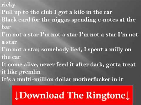 Rick Ross - I'm Not A Star  Lyrics