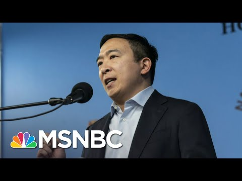 Andrew Yang Tests Positive For Covid-19 | Craig Melvin | MSNBC