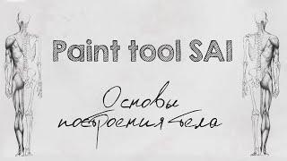 Уроки Paint Tool SAI #9 - Основы построения тела