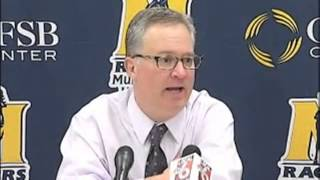 Watch: Southern Illinois coach Hinson goes off