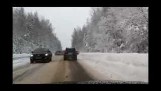 Видео дтп зимой