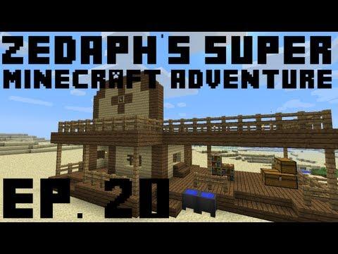 Zedaph's Super Minecraft Adventure: E20 - Station Creation