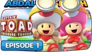Captain Toad: Treasure Tracker [Nintendo Switch] - 100% Walkthrough Episode 1 - Part 1!  🔴LIVE!