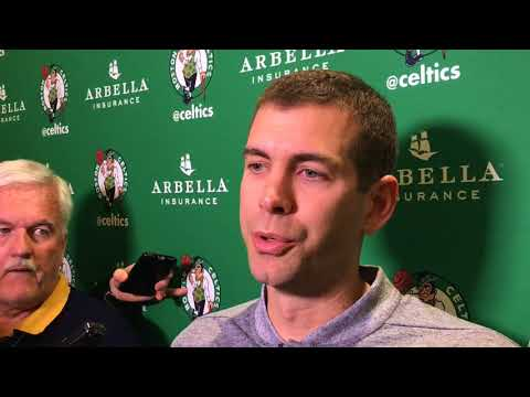 Boston Celtics news: Kyrie Irving extending knee, Jaylen Brown available vs. Toronto Raptors