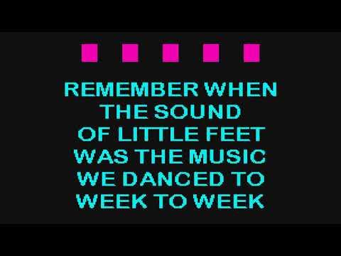 Alan Jackson   Remember When SC Karaoke