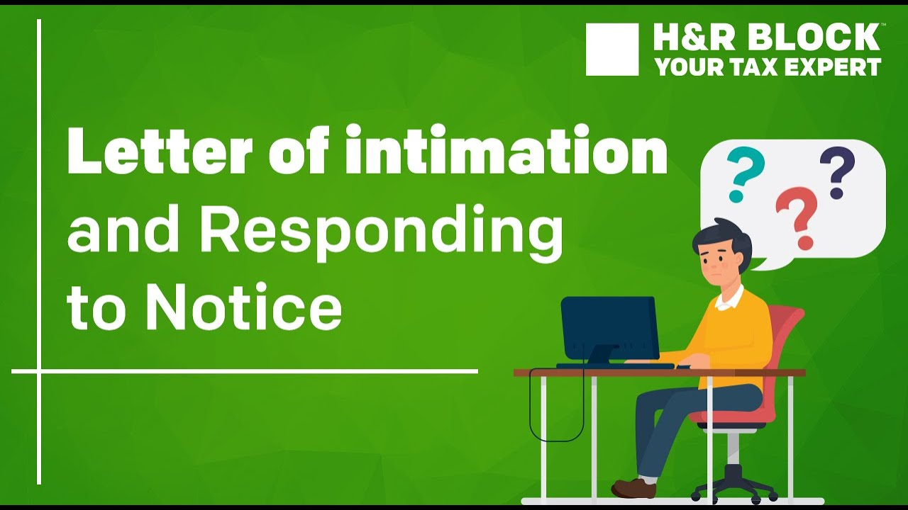 How to Respond to Income Tax Notice under section 143(1 ...