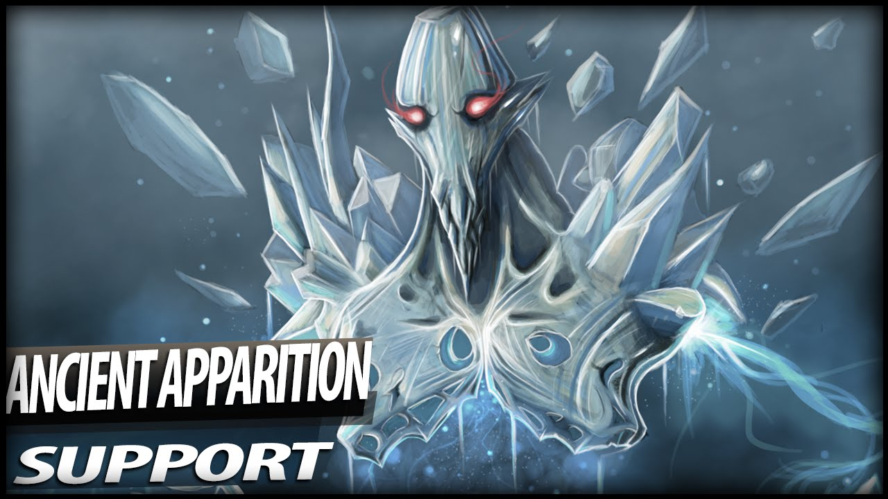 DOTA 2 - Playing Ancient Apparition (Support)