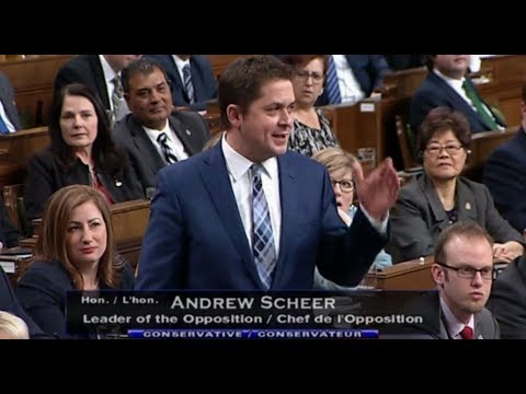 Scheer Outraged At Trudeau's Disgusting Veteran Comment