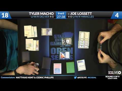SCGDAL - Legacy - Round 5 - Joe Lossett vs Tyler Macho